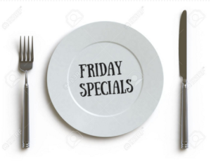 Friday Dinner Restaurant Specials South of Boston MA