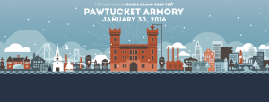 Rhode Island Brew Fest Jan 2016 in Pawtucket RI