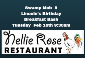 Nellie Rose Whitman Lincoln Birthday Breakfast Bash Swamp Mob 8