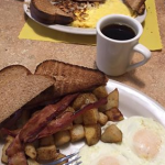 2 egg Breakfast at Nellie Rose Route 18 in Whitman MA