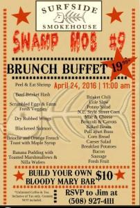 Surfside Smokehouse Plymouth Sunday Brunc Buffet Swamp Mob 9