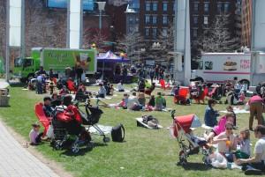 Greenway Spring Food Truck Festival 2016 in Boston MA