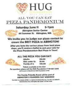 Pizza Pandemonium Abington's  Best Pizza Competition 2016