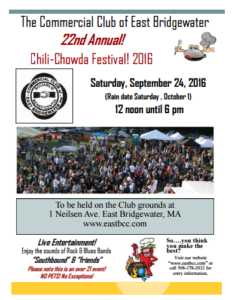 East Bridgewater Chili-Chowda Festival 2016