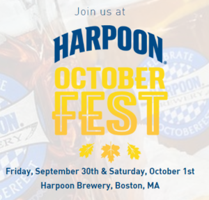 Harpoon Octoberfest 2016 in Boston MA