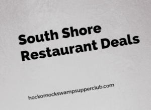 South of Boston Restaurant Deals Groupons & coupons Round-up