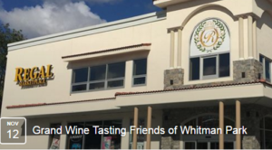 Friends of Whitman Park Grand Wine Tasting 2016