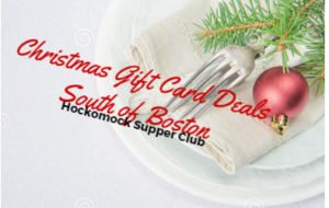 South Shore Boston Christmas Holiday Restaurant Gift Card Deals 2017