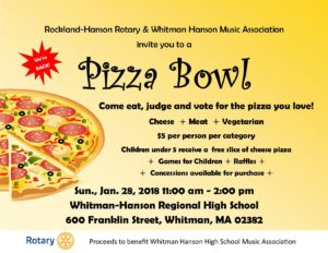 Whitman Hanson Pizza Bowl 2018