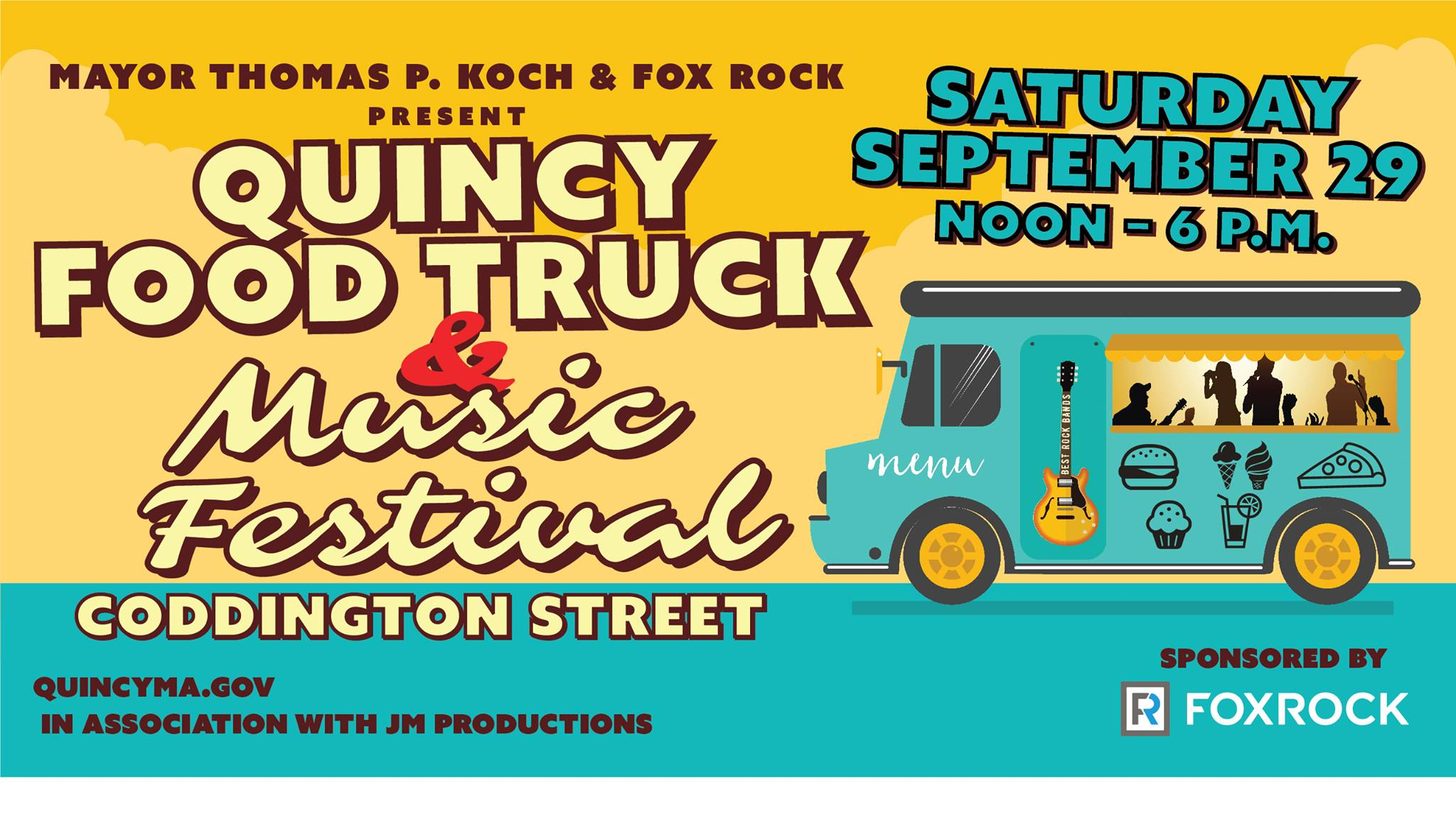 Quincy Food Truck Music Festival 2018 Hockomock Swamp Supper Club